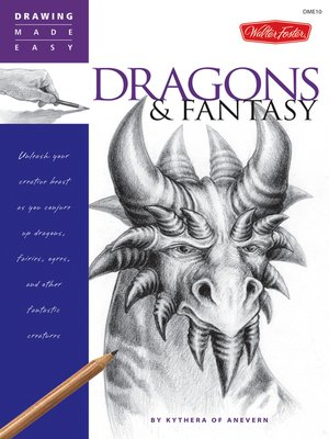 cover image of Drawing Made Easy: Dragons & Fantasy