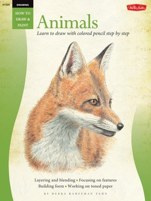 cover image of Animals in Colored Pencil