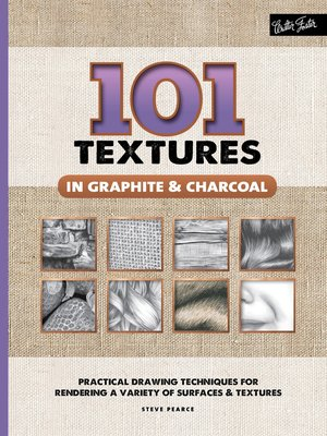 cover image of 101 Textures in Graphite & Charcoal