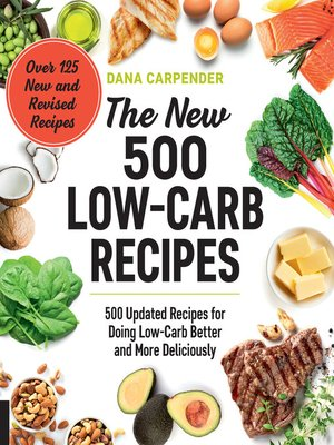 cover image of The New 500 Low-Carb Recipes