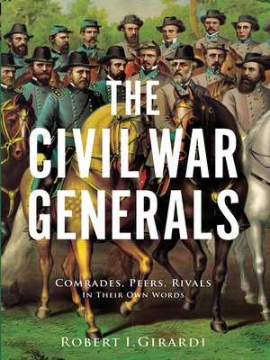 cover image of The Civil War Generals