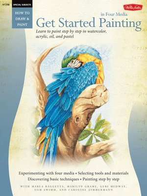 cover image of Get Started Painting