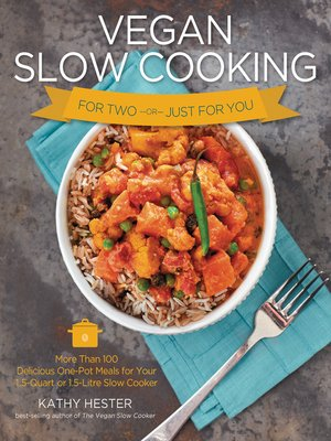 cover image of Vegan Slow Cooking for Two or Just for You