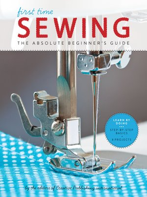 cover image of First Time Sewing