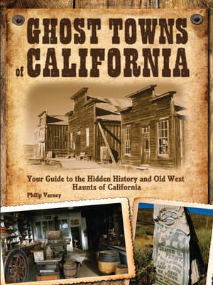 cover image of Ghost Towns of California