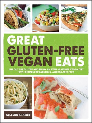 cover image of Great Gluten-Free Vegan Eats