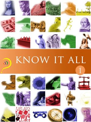 cover image of Know It All, Volume 1