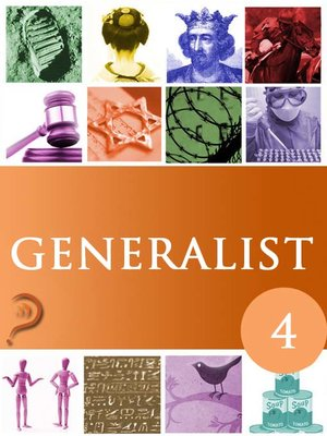 cover image of Generalist, Volume 4
