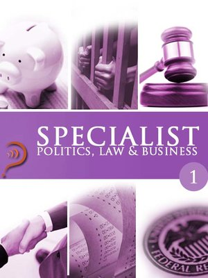 cover image of Politics, Law & Business, Volume 1