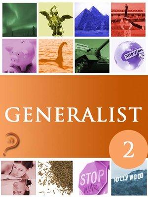 cover image of Generalist, Volume 2