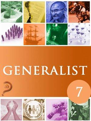 cover image of Generalist, Volume 7
