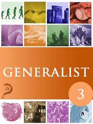 cover image of Generalist, Volume 3