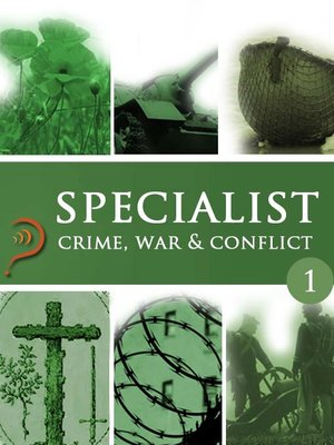 cover image of Crime, War & Conflict, Volume 1