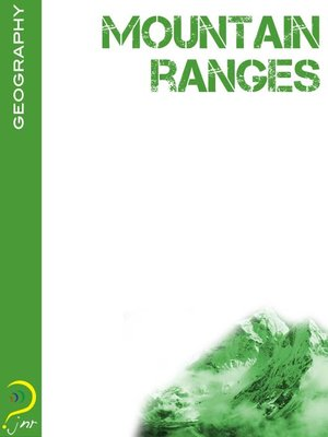 cover image of Mountain Ranges