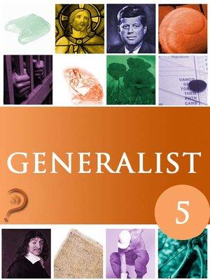 cover image of Generalist, Volume 5