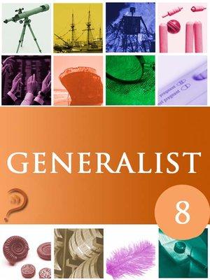 cover image of Generalist, Volume 8