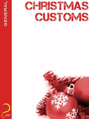 cover image of Christmas Customs