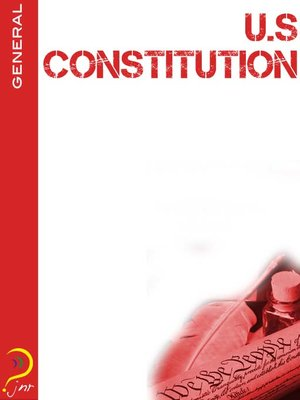 cover image of US Constitution