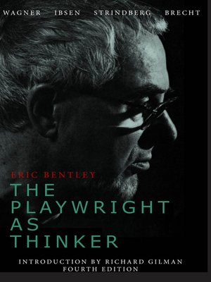 cover image of The Playwright as Thinker