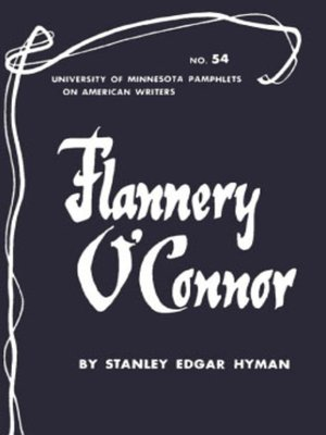 cover image of Flannery O'Connor - American Writers 54