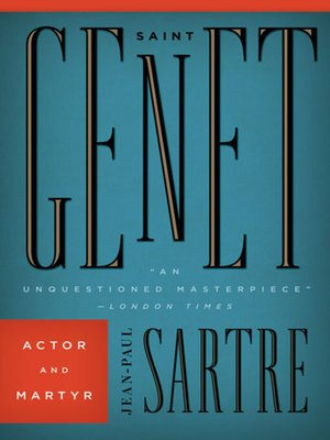 cover image of Saint Genet