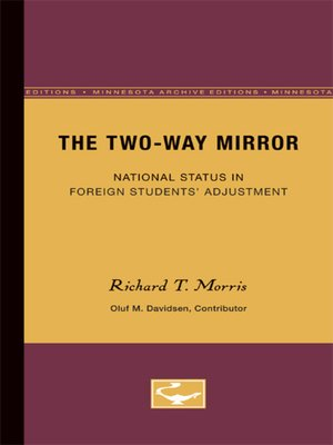 cover image of The Two-Way Mirror