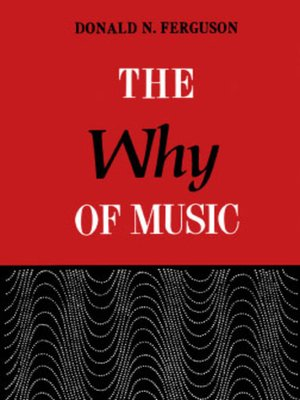 cover image of The Why of Music