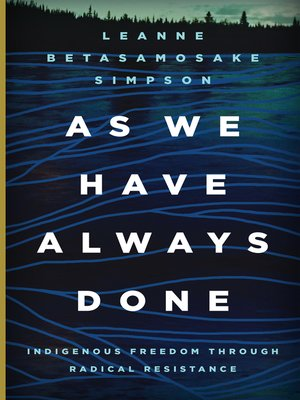 cover image of As We Have Always Done
