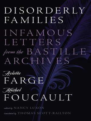 cover image of Disorderly Families