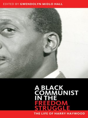 cover image of A Black Communist in the Freedom Struggle