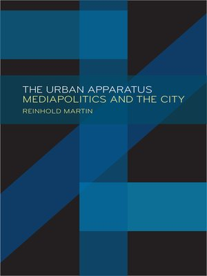 cover image of The Urban Apparatus
