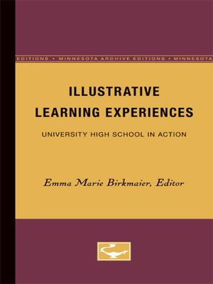 cover image of Illustrative Learning Experiences