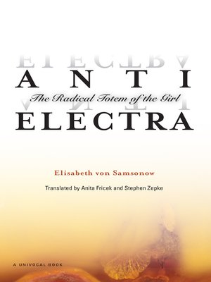 cover image of Anti-Electra