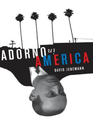 cover image of Adorno in America