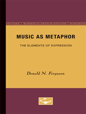 cover image of Music as Metaphor