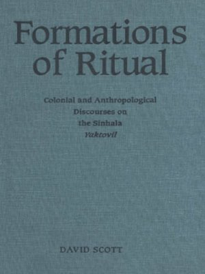 cover image of Formations of Ritual
