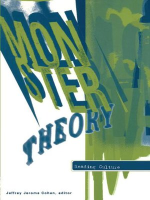 cover image of Monster Theory