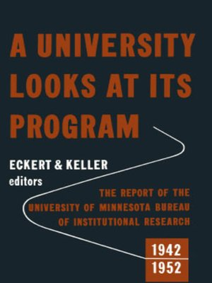 cover image of A University Looks at its Program