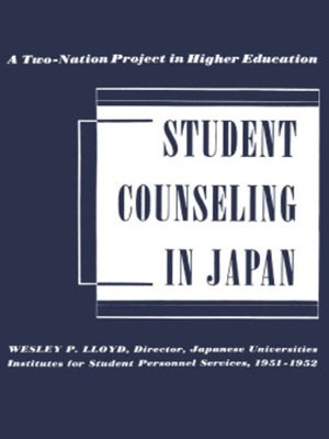 cover image of Student Counseling in Japan