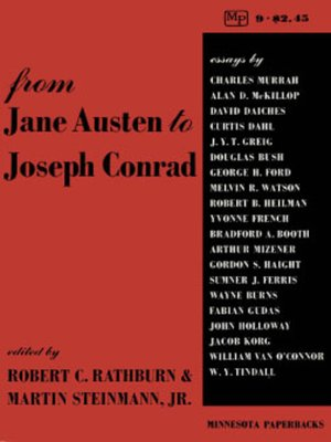 cover image of From Jane Austen to Joseph Conrad