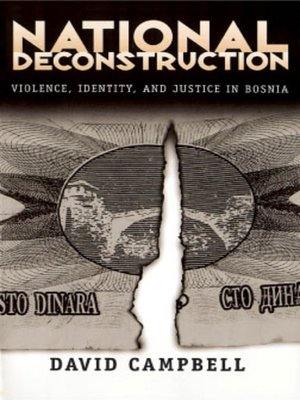cover image of National Deconstruction
