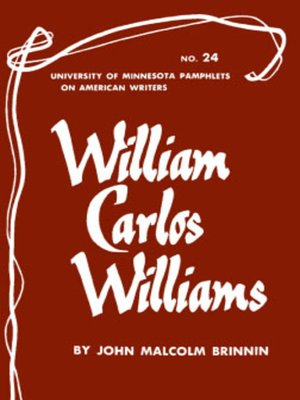 cover image of William Carlos Williams--American Writers 24