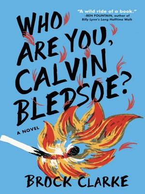cover image of Who Are You, Calvin Bledsoe?