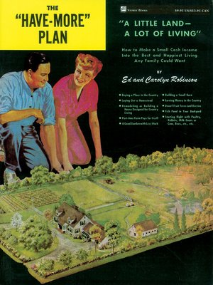 """cover image of The """"Have-More"""" Plan"""