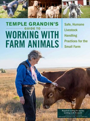 cover image of Temple Grandin's Guide to Working with Farm Animals