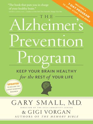 cover image of The Alzheimer's Prevention Program