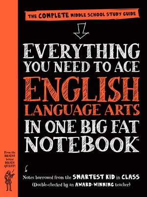 cover image of Everything You Need to Ace English Language Arts in One Big Fat Notebook