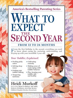 cover image of What to Expect the Second Year