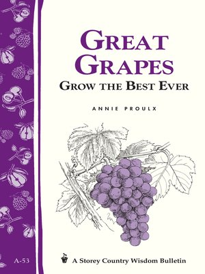 cover image of Great Grapes: Grow the Best Ever