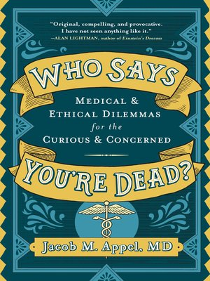 cover image of Who Says You're Dead?